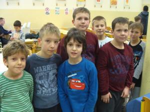 Rezultati področnega osnovnošolskega šahovskega tekmovanja