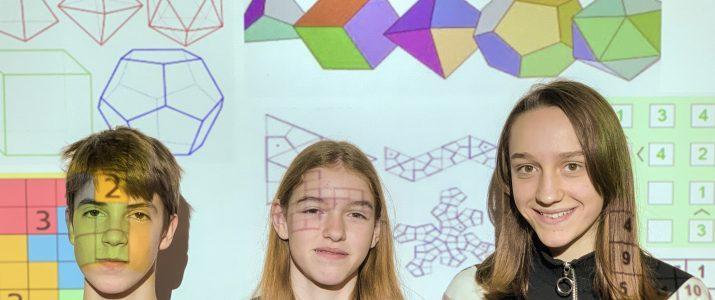 Zlato in dve srebrni priznanji iz razvedrilne matematike